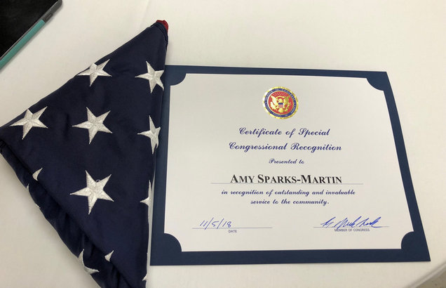 Amy Congressional Award